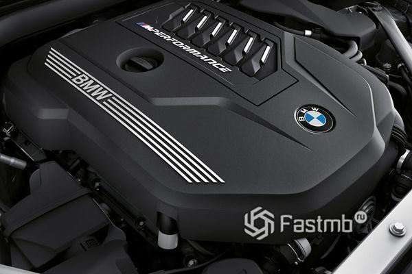 Двигатель родстера BMW Z4 M40i