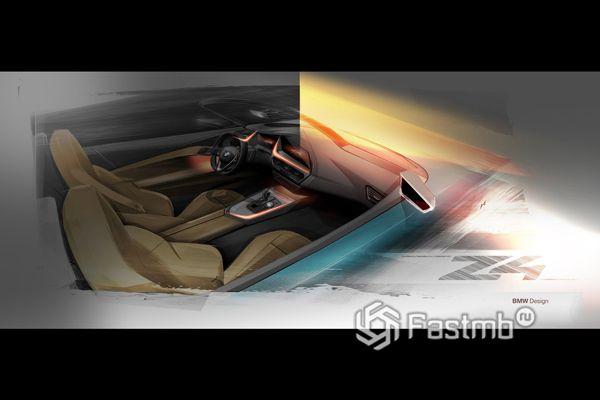 Дизайн интерьера BMW Z4 M40i