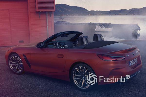 Стильный кузов родстера BMW Z4