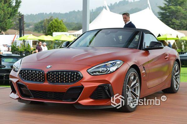 Официальная презентация серийного BMW Z4 M40i