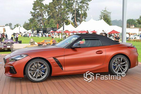Боковая часть BMW Z4 M40i