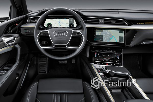 Интерьер нового Audi e-tron