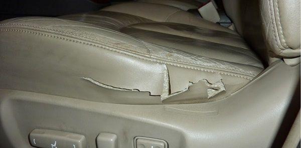 Ремонт сидений в машине