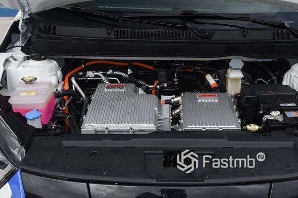 Электродвигатель нового JAC iEV7S 2018