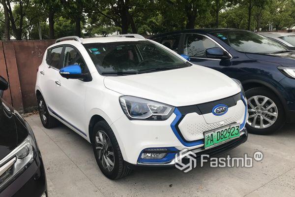 Китайский электрический кроссовер JAC iEV7S 2018