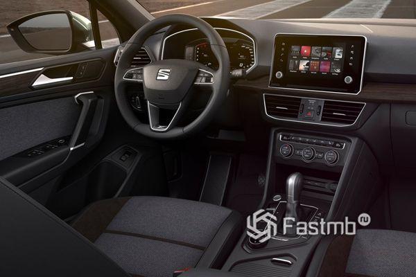 Интерьер нового Seat Tarraco 2019