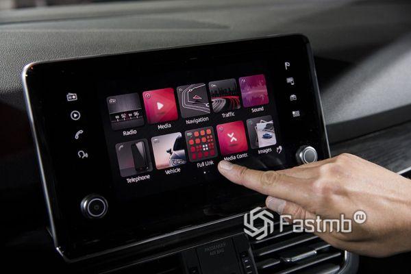 Дисплей мультимедийной системы SEAT Tarraco 2019
