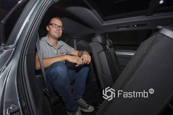Третий ряд сидений кроссовера SEAT Tarraco