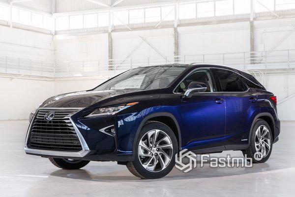 Новый Lexus RX450h Hybrid 2018