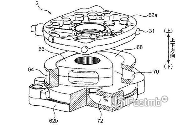 Схема обновленного роторного двигателя Ванкеля