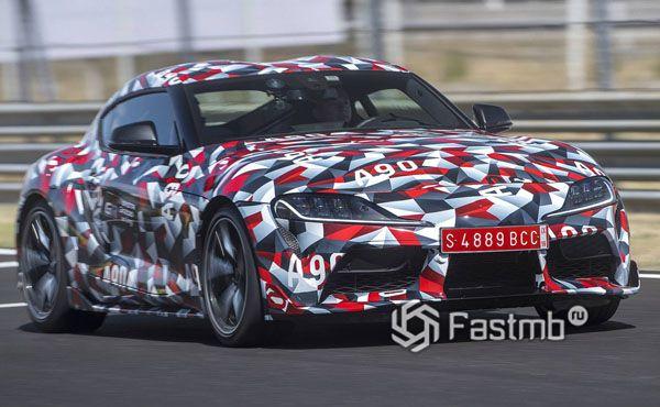 Новая Toyota Supra на тест-драйве