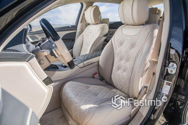 Водительское сиденье Mercedes-Maybach S-Class