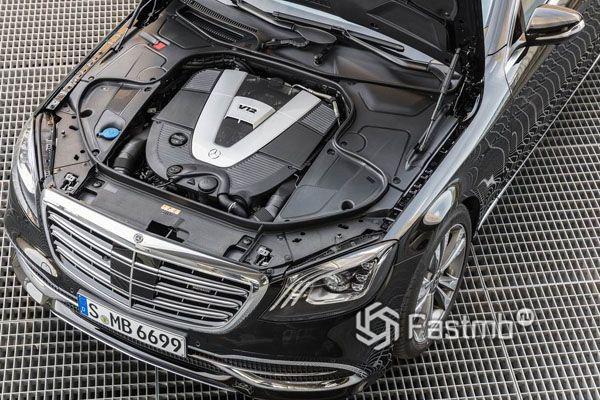 Двигатель V12 Mercedes-Maybach S-Class 2018