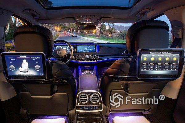 Комфорт седана Mercedes-Maybach S-Class 2018