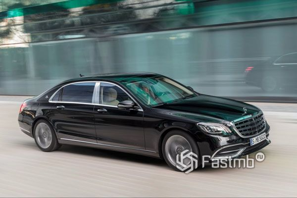 Рестайлинг Mercedes-Maybach S-Class 2018