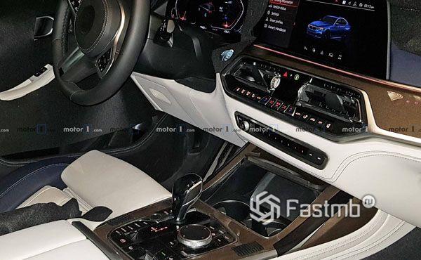 Передняя панель и центральный тоннель BMW X7