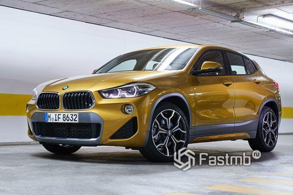 Стильный кроссовер BMW X2 2019