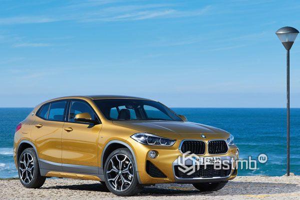 Спортивный BMW X2 2018-2019