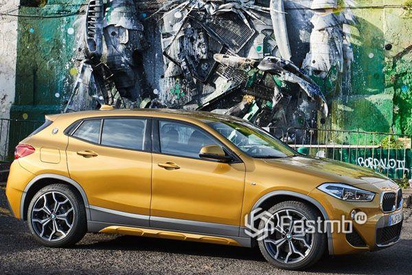BMW X2 2019, вид сбоку
