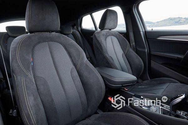 Передние сиденья BMW X2