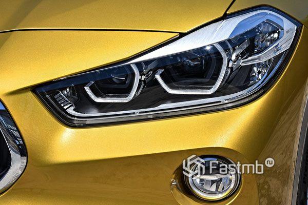 Светодиодная оптика BMW X2 2018