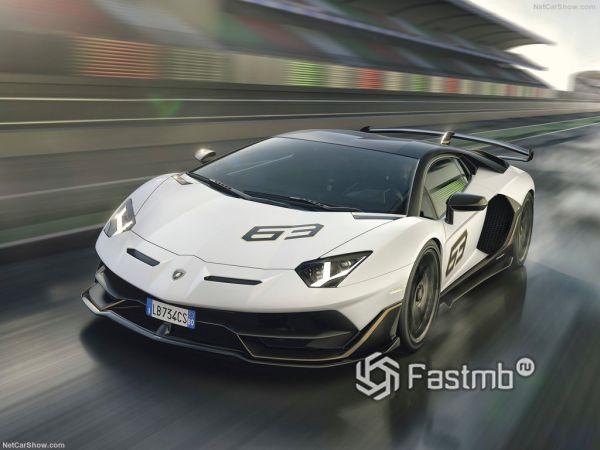 Экстерьер Lamborghini Aventador SVJ