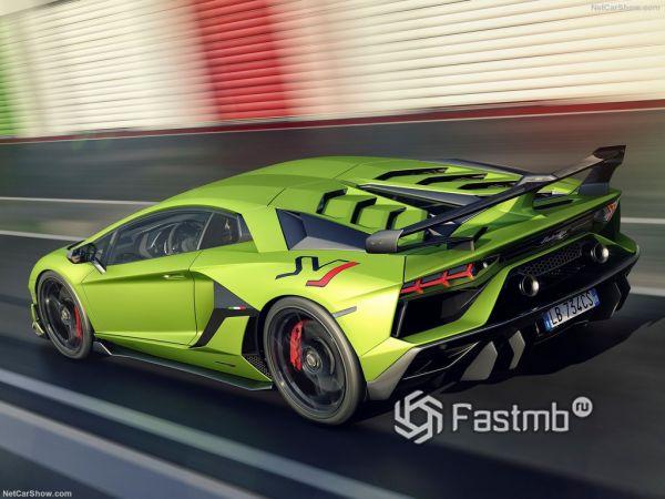 Системы безопасности нового Lamborghini Aventador SVJ