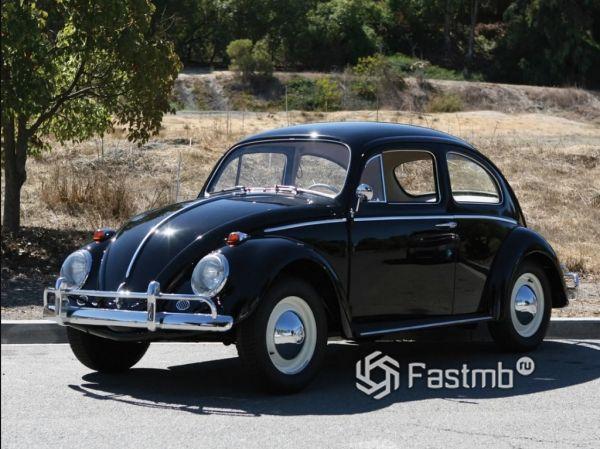 Volkswagen Beetle 1962 года