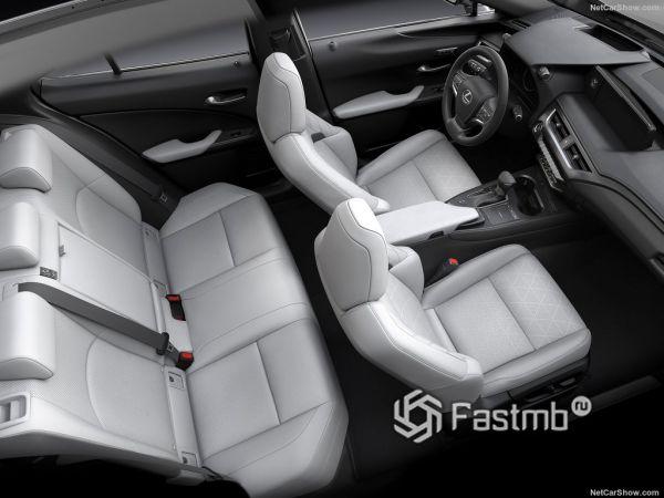 Lexus UX 2019, кресла