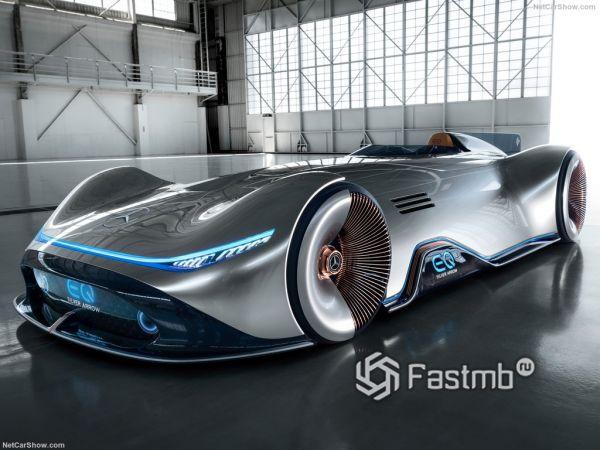 Mercedes-Benz Vision EQ Silver Arrow Concept: новый концепт Мерседес