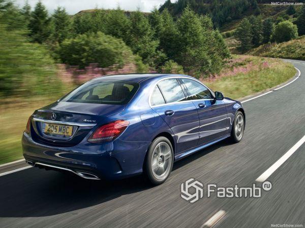 Системы безопасности нового Mercedes-Benz C-Class