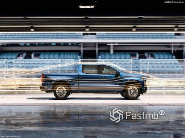 Системы безопасности нового Chevrolet Silverado