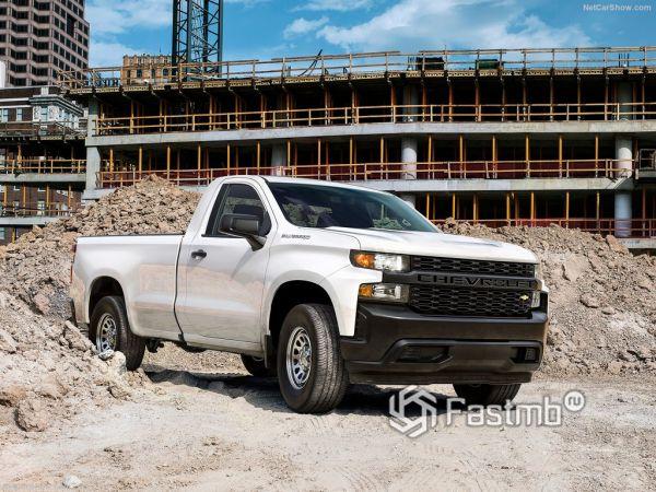 Технические характеристики Chevrolet Silverado 2019