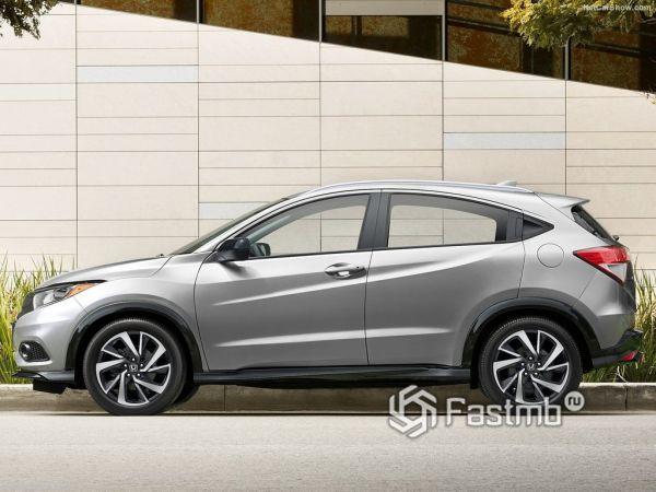 Безопасность нового Honda HR-V