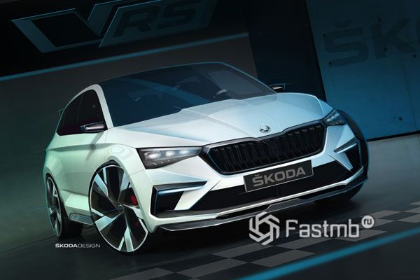 Гибридный Skoda Vision RS