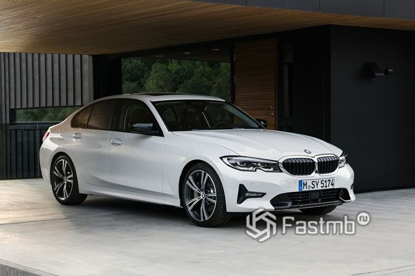 Новое поколение седана BMW 3-Series G20 2019