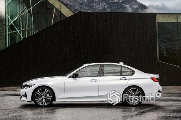 BMW 3-Series G20 2019, вид сбоку