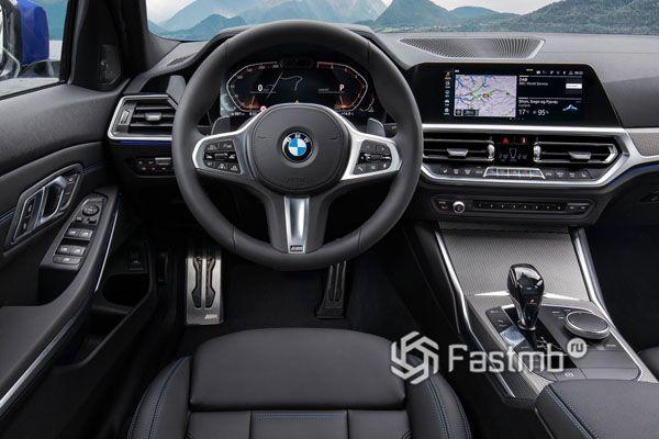 Интерьер нового BMW G20 2019