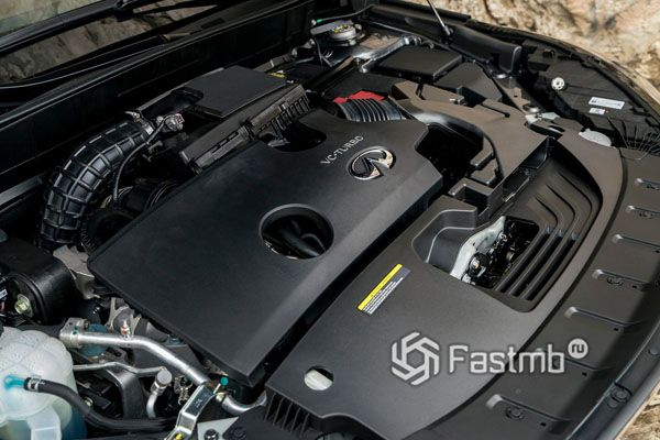 Бензиновый двигатель Infiniti QX50 2018