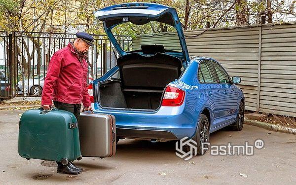 Размер багажника