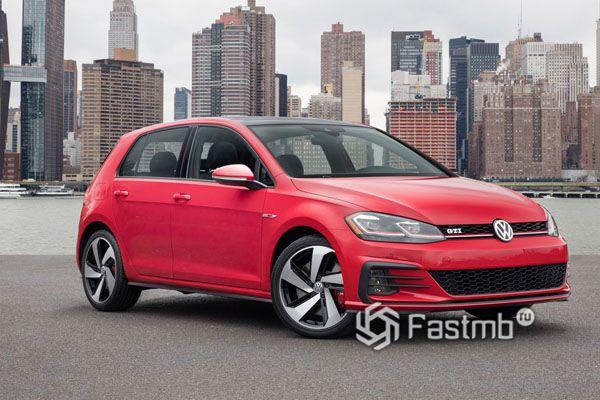 Новый Volkswagen Golf 2018