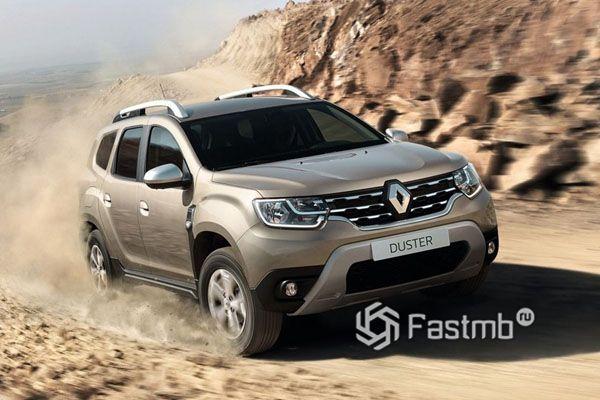 Обновленный Renault Duster 2018