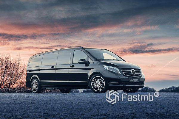 Новый лимузин Mercedes V-Class Limousine