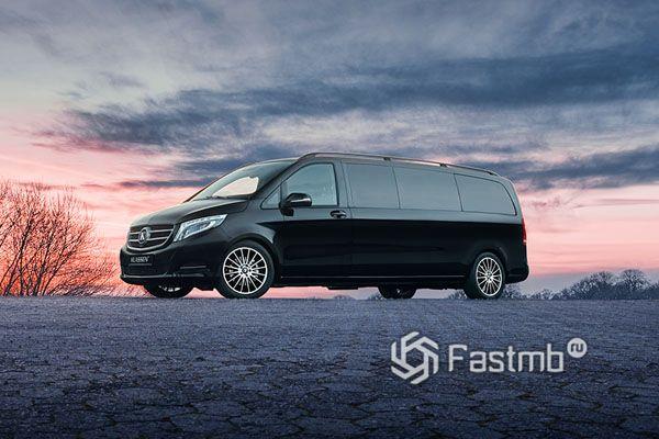 Фирменные диски нового лимузина Mercedes-Benz V-Class Limousine