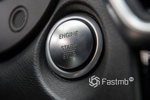 Кнопка Start-Stop двигателя