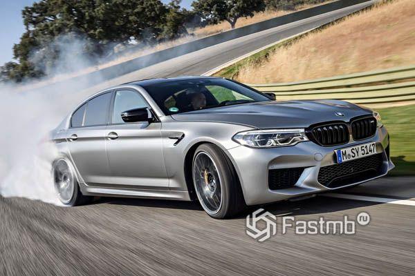 Дрифт на BMW M5