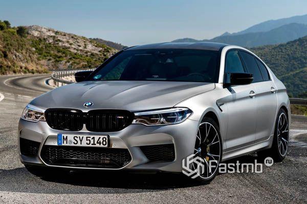 Новый BMW M5 Competition 2019