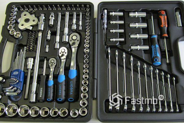 Разновидность инструментов в наборе