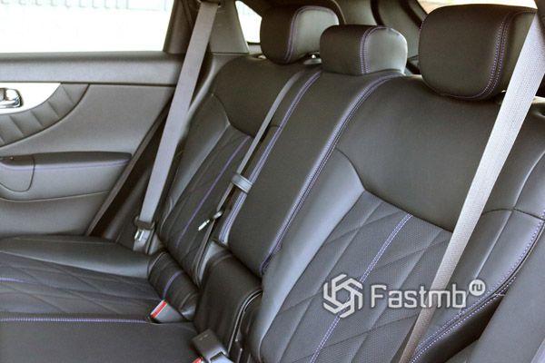Обшивка задних сидений Infiniti QX70