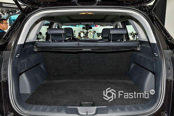 Багажник пятиместного Brilliance V7